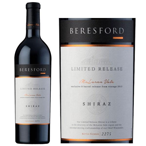 Rượu Vang ÚC Beresford Limited Release Syrah