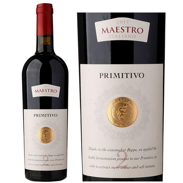 Rượu Vang Ý Maestro Primitivo