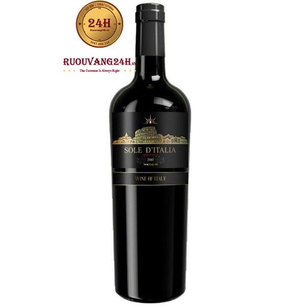 Rượu Vang Ý Sole D'italia – Vang Ngọt Giá Rẻ