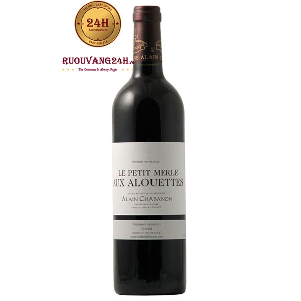 Rượu Vang Alain Chabanon Le Petit Merle Aux Alouettes