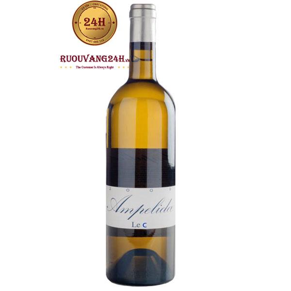 Rượu Vang Ampelidae Le C Chardonnay
