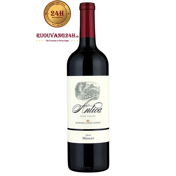 Rượu Vang Antica Merlot Napa Valley