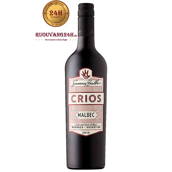 Rượu Vang Argentina Susana Balbo Crios Malbec