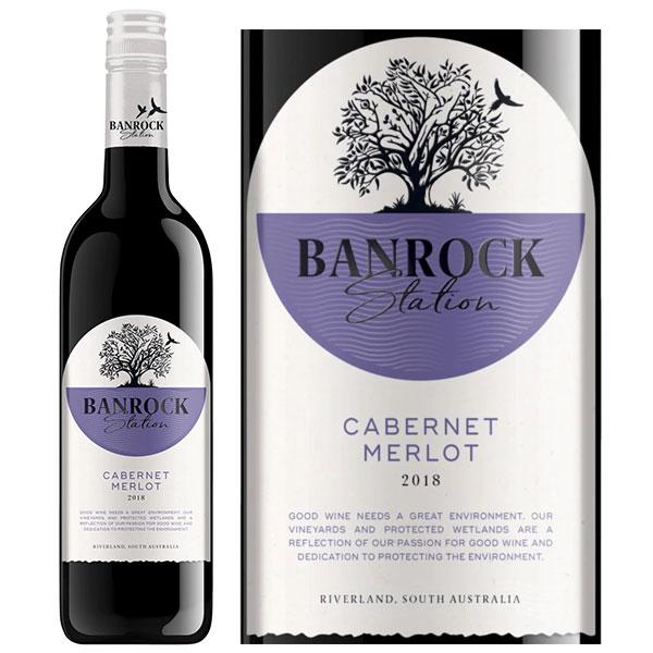 Rượu Vang Banrock Station Cabernet Merlot