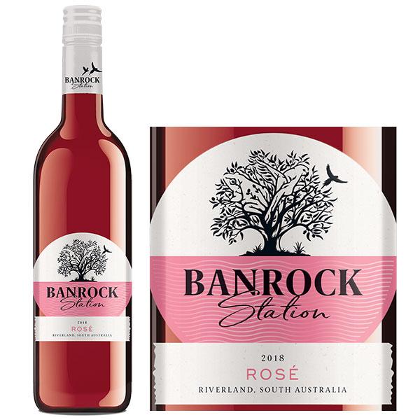 Rượu Vang Banrock Station Rose