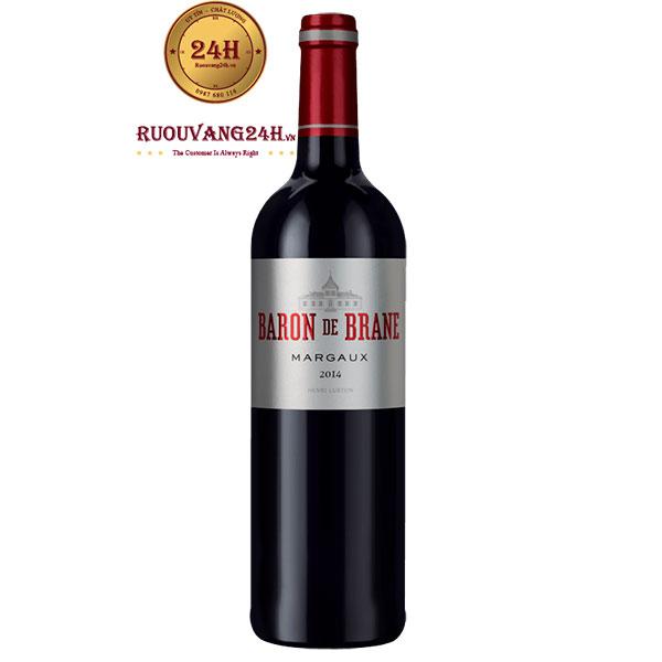Rượu Vang Baron De Brane Margaux