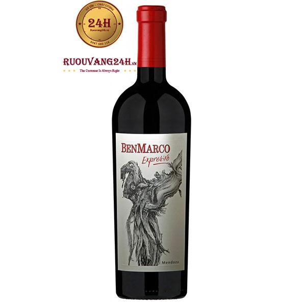 Rượu Vang Benmarco Expresivo Mendoza