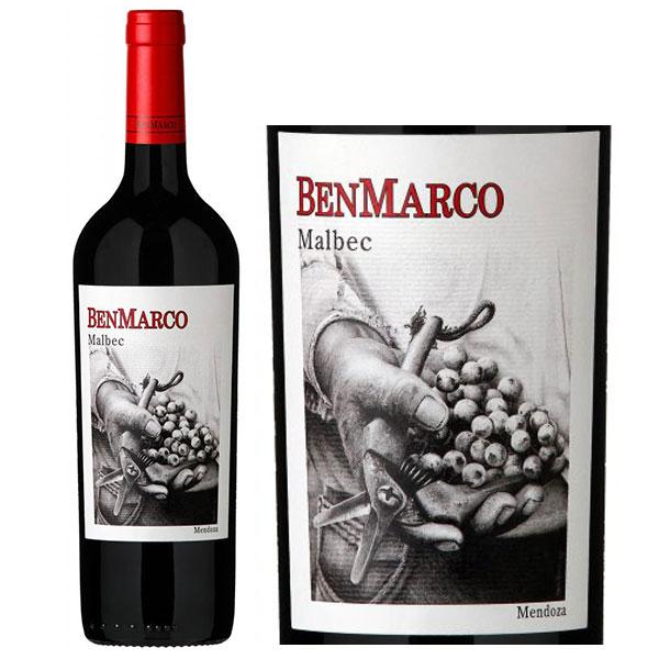Rượu Vang Benmarco Malbec Mendoza