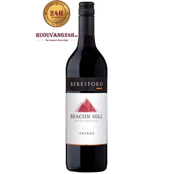 Rượu Vang Beresford Beacon Hill Syrah