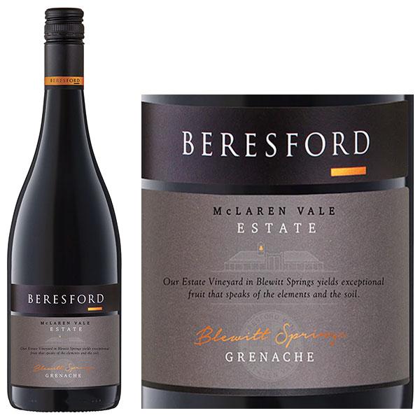Rượu Vang Beresford Estate Grenache