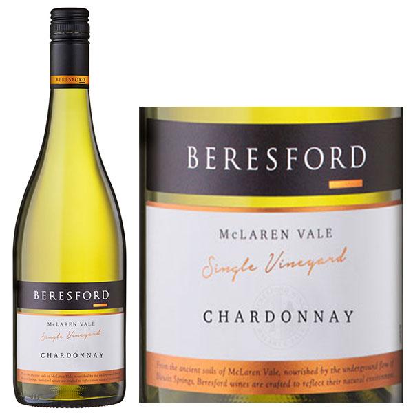 Rượu Vang Beresford Mc Laren Vale Chardonnay