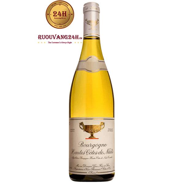 Rượu Vang Bourgogne Hautes Cotes De Nuits Blanc