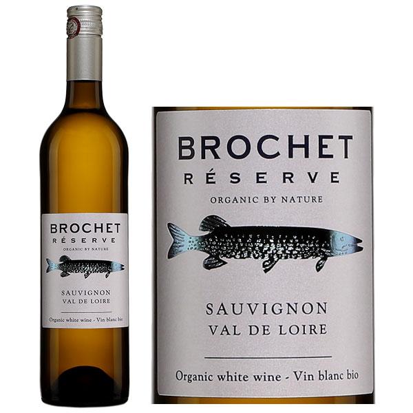 Rượu Vang Brochet Reserve Sauvignon Blanc Organic