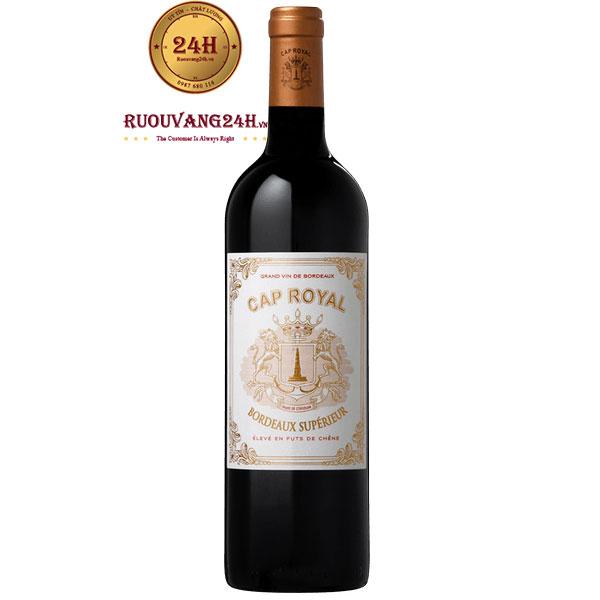 Rượu Vang Cap Royal Bordeaux Superieur