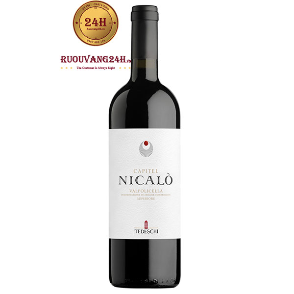 Rượu Vang Capitel Nicalò Valpolicella Tedeschi