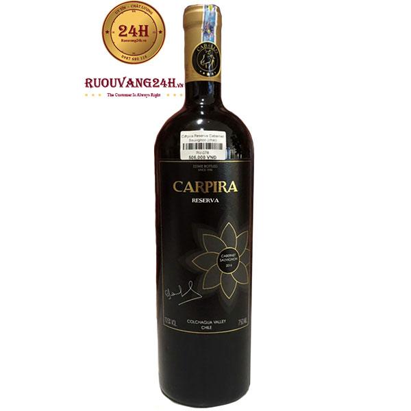 Rượu Vang Carpira Reserva Cabernet Sauvignon