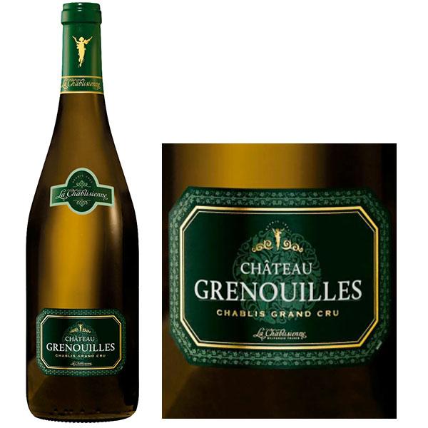 Rượu Vang Château Grenouilles Chablis Grand Cru