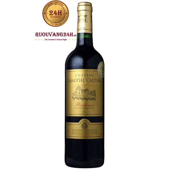 Rượu Vang Château Lamothe Castéra