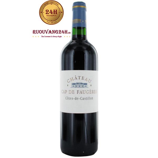 Rượu Vang Chateau Cap De Faugeres Cotes De Castillon