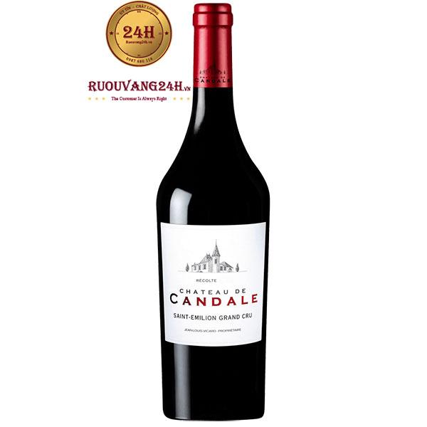 Rượu Vang Chateau De Candale