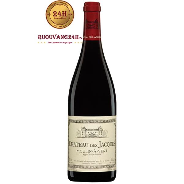 Rượu Vang Chateau Des Jacques Moulin A Vent