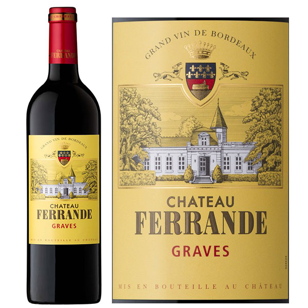 Rượu Vang Chateau Ferrande Graves
