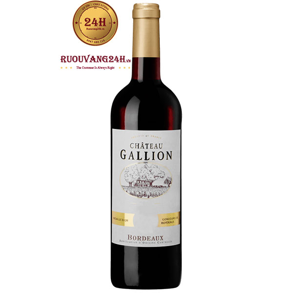 Rượu Vang Chateau Gallion Bordeaux