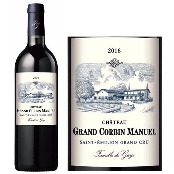 Rượu Vang Chateau Grand Corbin Manuel