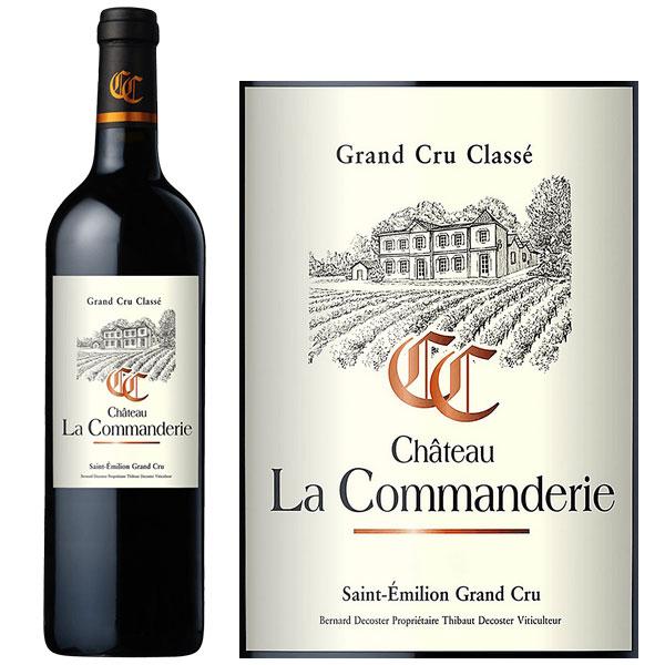 Rượu Vang Chateau La Commanderie