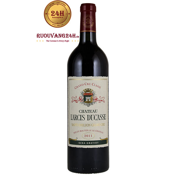 Rượu Vang Chateau Larcis Ducasse