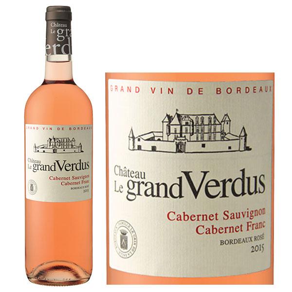 Rượu Vang Chateau Le Grand Verdus Rose Bordeaux