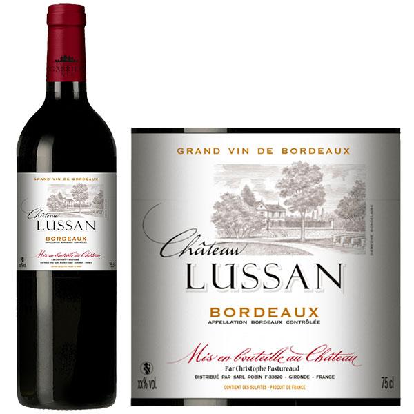 Rượu Vang Chateau Lussan Bordeaux
