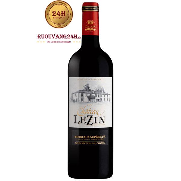 Rượu Vang Chateau Lzin Bordeaux Superieur