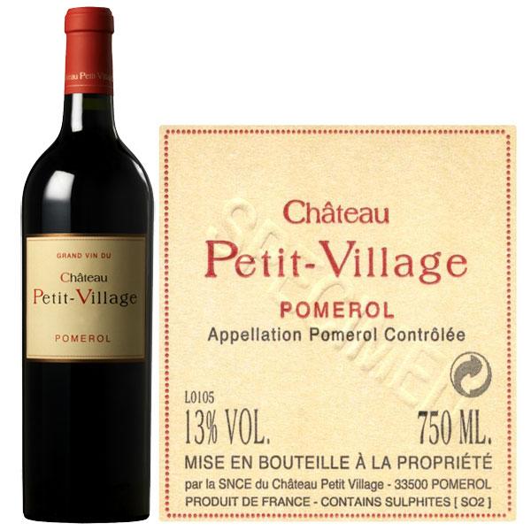 Rượu Vang Chateau Petit Village Pomerol