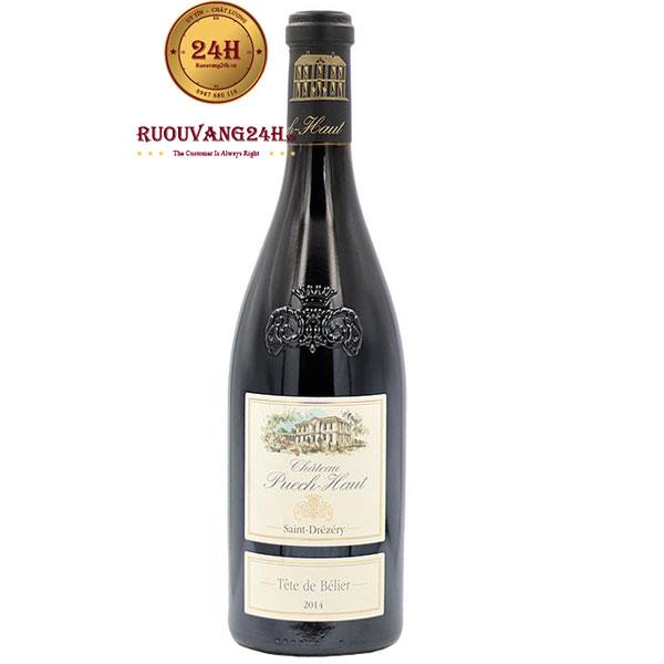 Rượu Vang Chateau Puech Haut Tete De Belier