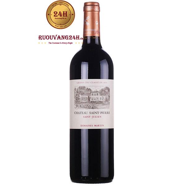 Rượu Vang Chateau Saint Pierre Saint Julien