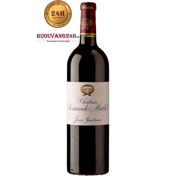 Rượu Vang Chateau Sociando Mallet Haut Medoc