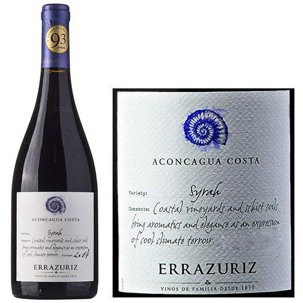 Rượu Vang Chile Aconcagua Costa Syrah Errazuriz