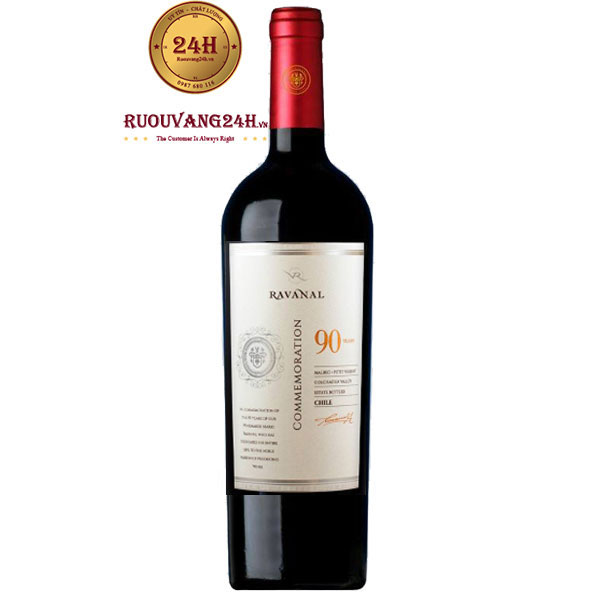 Rượu Vang Chile Ravanal 90 Year