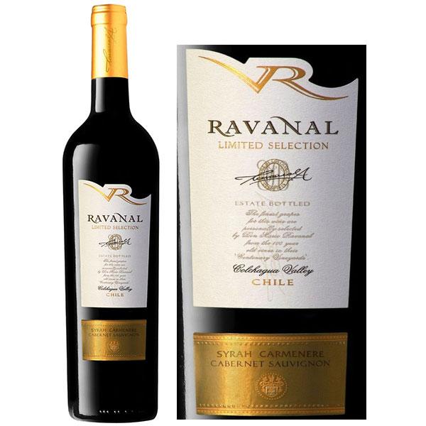 Rượu Vang Chile Ravanal Limited Selection