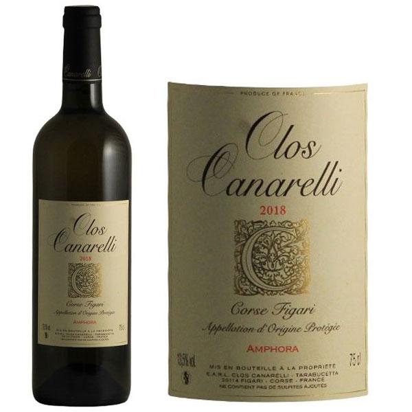 Rượu Vang Clos Canarelli Amphora Corse Figari