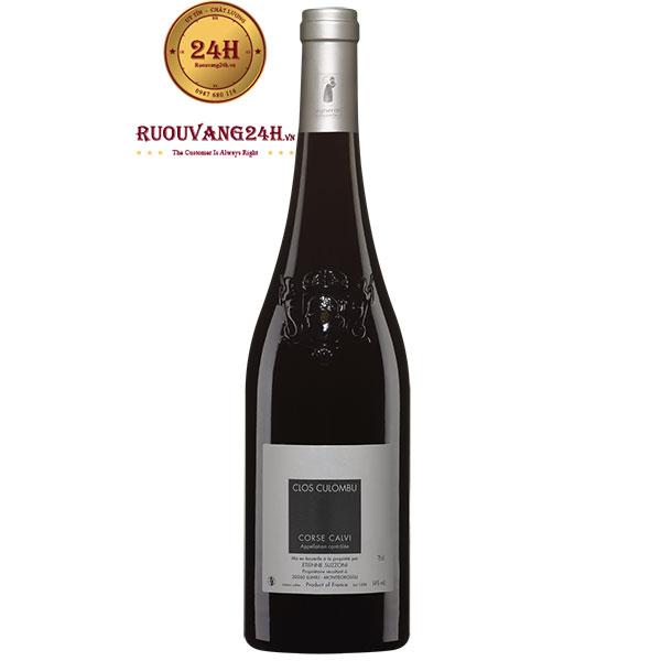 Rượu Vang Clos Culombu Corse Calvi Organic