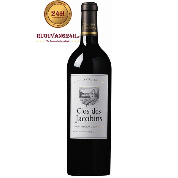 Rượu Vang Clos Des Jacobins Saint Emilion Grand Cru