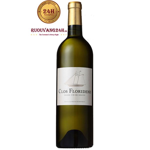 Rượu Vang Clos Floridene Graves Blanc