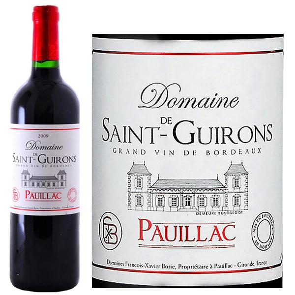 Rượu Vang Domaine De Saint Guirons Pauillac