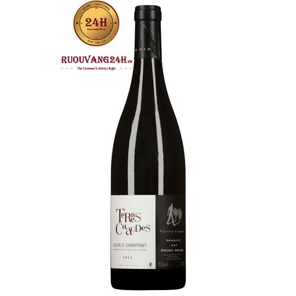 Rượu Vang Domaine Des Roches Neuves Terres Chaudes