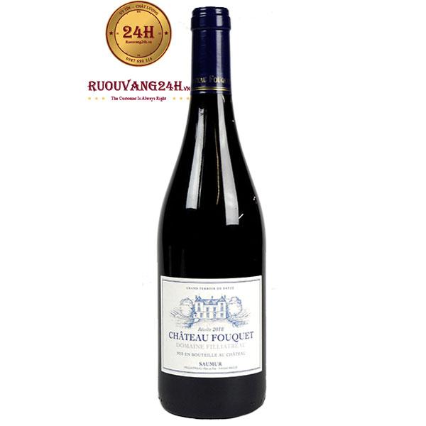 Rượu Vang Domaine Filliatreau Chateau Fouquet Saumur