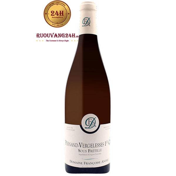 Rượu Vang Domaine Francoise Andre Pernand Vergelesses Sous Fretille