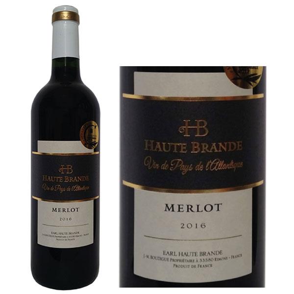 Rượu Vang Domaine Haute Brande Merlot