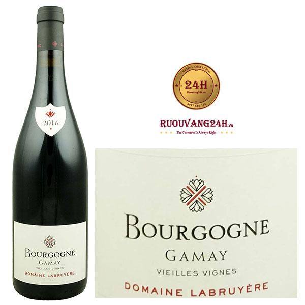 Rượu Vang Domaine Labruyere Bourgogne Gamay
